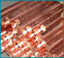 Copper Nickel Alloy 70/30 Round Bars & Rods Manufacturer Exporter