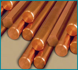 Copper Nickel Alloy 90/10 Round Bars & Rods Manufacturer Exporter